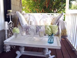 Front Porch Table 10 Favorite Rate My Space Outdoor Rooms On A Budget