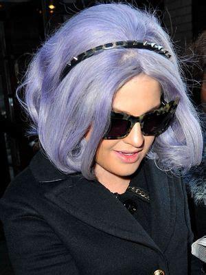does kelly osbourne wear a purple wig kelly osbourne reveals what was under her apparent wig