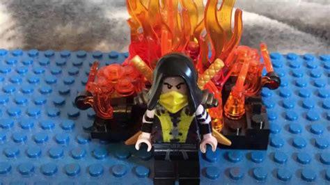 custom lego mortal kombat scorpion    youtube