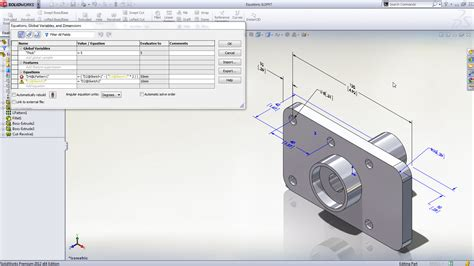 tutorial solidwork pdf new in solidworks 2012 enhanced equation editing