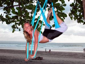yoga swing installation fasting and exercise