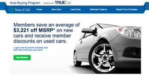 costco new car savings sam s club wants to help you buy a car consumerist