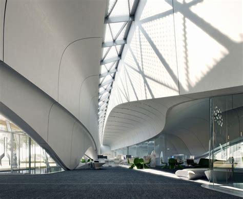 design concept sharjah bee ah s sharjah headquarters by zaha hadid architects tuvie