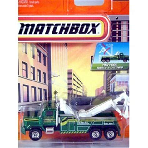 matchbox real working rigs western star 6900hd tow truck