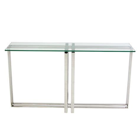 clear sofa table riga clear console table el dorado furniture