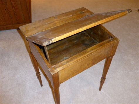what is the value of an antique school desk square about