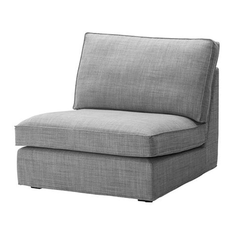 Kivik One Seat Section Isunda Grey Ikea