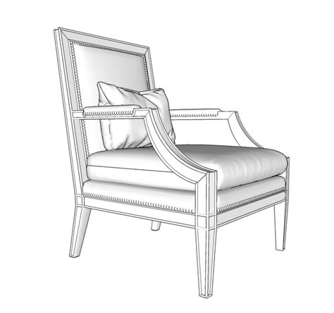 modern carolina chair sketchucation