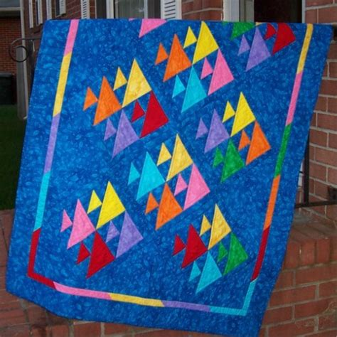 Patchwork Fish Pattern - fish maryquilts