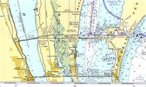 map of merritt island florida merritt island 1977