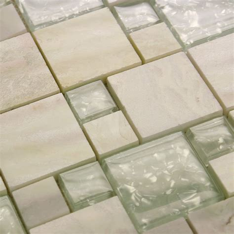 discount bathroom tiles stone glass tile mirror square wall tile backsplash