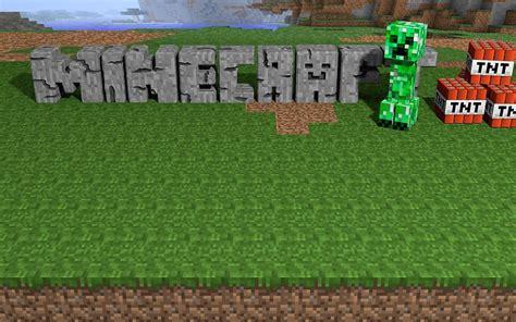 Creeper Minecraft Hintergrundbild Hintergrundbilder