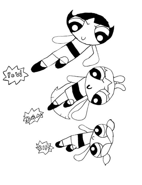 Powder Puff Coloring Pages Coloring Pages Powder Puff Coloring Pages Printable
