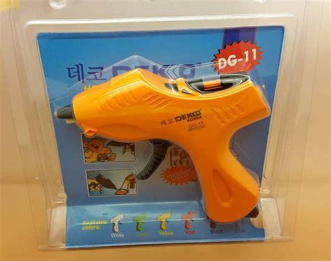 Alat Lem Tembak Ukuran Besar Glue Gun Besar 60w harga lem tembak ekonomis pemakaian mudah dan praktis