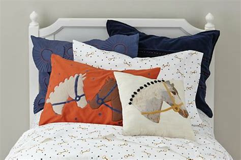 equestrian bedding equestrian bedding from the land of nod horses heels