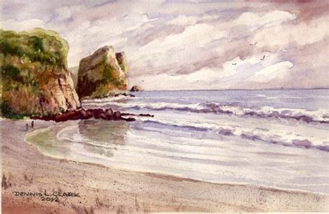 watercolor tutorial seascape how to paint effects and seascapes in watercolour online