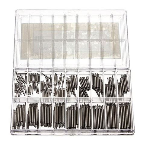 pcs stainless steel  mm  band spring bars strap link pins repair  link pins tool
