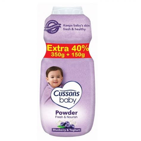 Cusson Baby Powder Fresh And Nourish 200gr 1 cussons baby powder fresh nourish fill 350gr