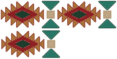 Southwestern Designs by Native American Border Designs Cliparts Co