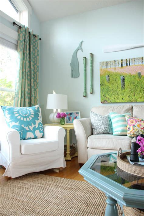 how to keep room cool in summer naturally summer home tour summer living dining room a giveaway the happy housie