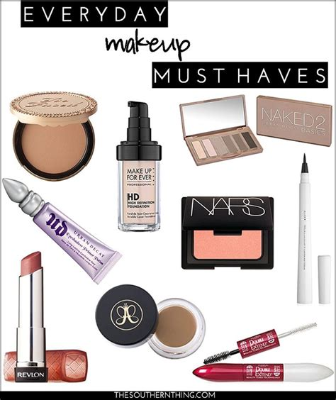 7 Makeup Must Haves For by Everyday Makeup Must Haves The Southern Thing Everyday
