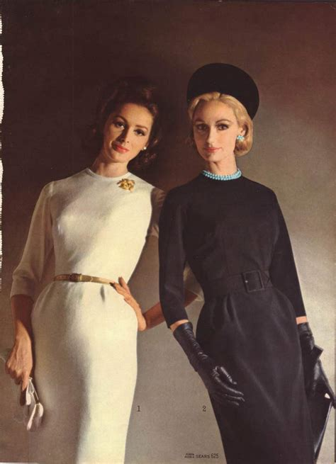 conservative professional look for women in their sixties vintage women s fashion from a 1964 catalog 1960s