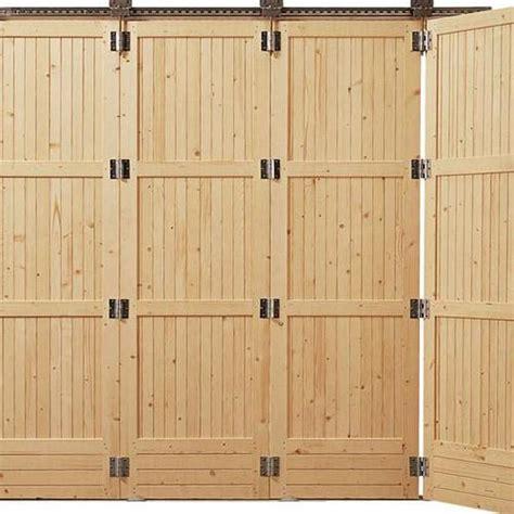 comment fabriquer une porte de garage coulissante