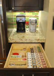 Hidden Storage Ideas best 25 k cup storage ideas on pinterest keurig storage
