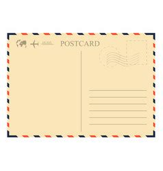 airmail envelope royalty free vector image vectorstock