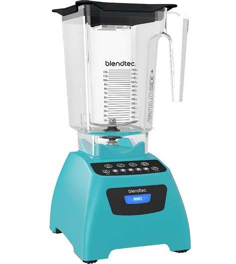 Blender Blendtec blendtec 575 classic blender with wildside jar in kitchen