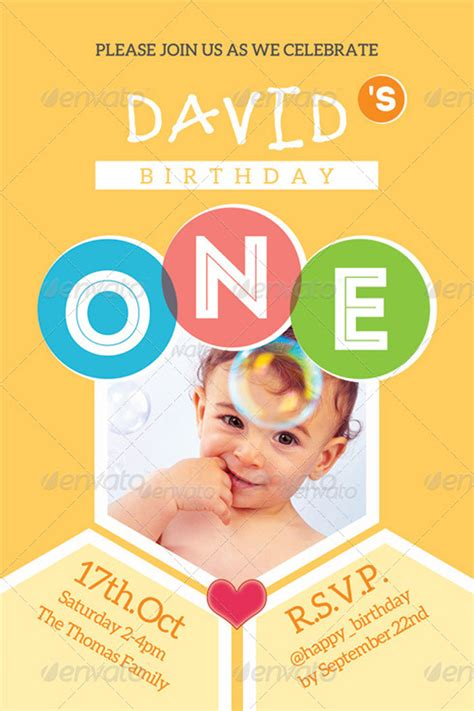 baby s birthday card template 10 best attractive baby card templates