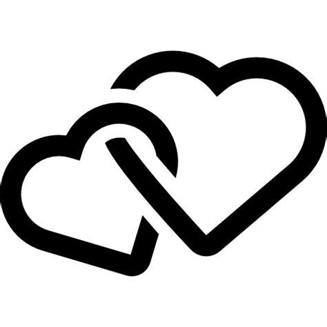 imagenes de corazones entrelazados corazones entrelazados iconos gratis de otro