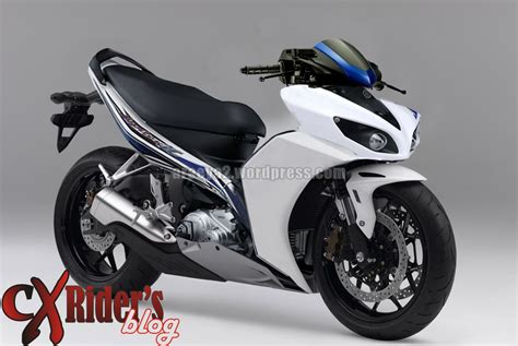 Fuel Jupiter Z1 Asli Yamaha modif new jupiter z white cxrider