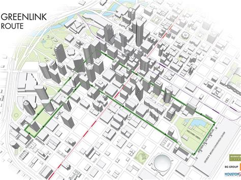 houston greenlink map a gas high free downtown trolley buses will keep