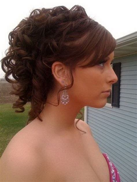 prom hairstyles updo curls prom hairstyles curly updos