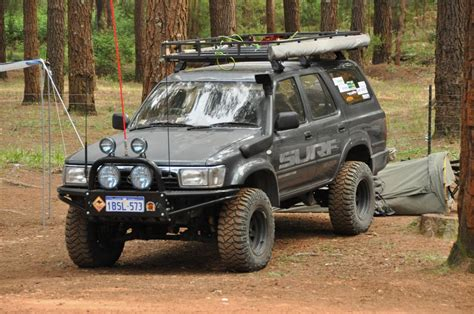 toyota hilux surf kzn185 shocks springs toyota 4x4 parts a well set up hilux surf