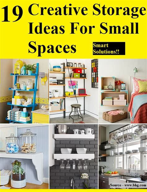 19 creative storage ideas for small spaces home and life tips
