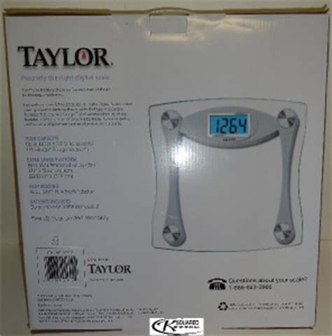taylor bathroom scale manual taylor glass digital high capacity bathroom scale 7516 new in box