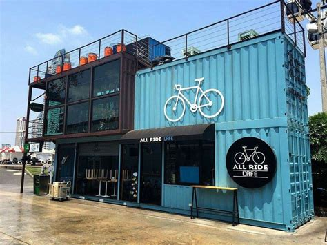 container haus all ride caf 233 in bangkokcontainer haus container haus