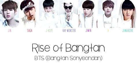 download mp3 bts rise of bangtan bts 방탄소년단 rise of bangtan color coded english lyrics