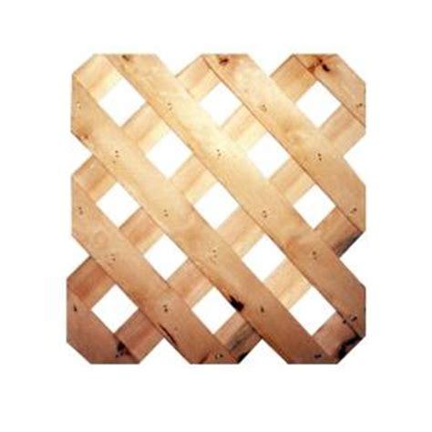 7 16 in x 24 in x 8 ft cedar garden lattice sp 3494