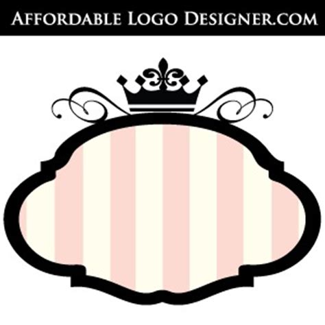 Bordir Logo boutique shop signage free vector graphics logo