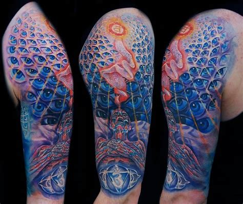 alex grey tattoo designs 15 alex grey on half sleeve