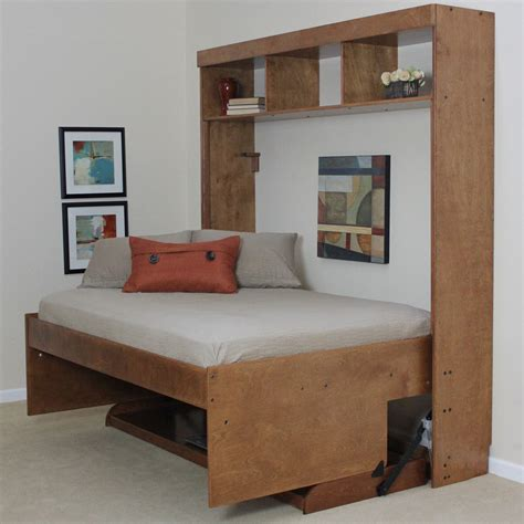 modern murphy beds wallbeds modern birch murphy bed reviews wayfair