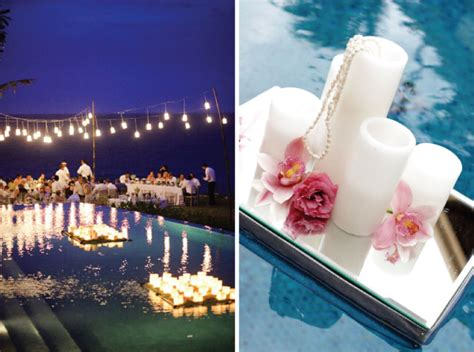 Pool Decorations For by Gorgeous Pool Decorations For Weddings The Magazine