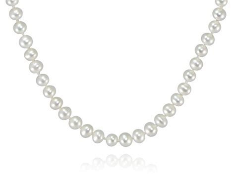 freshwater pearls for jewelry traditional white freshwater pearl necklace pearls