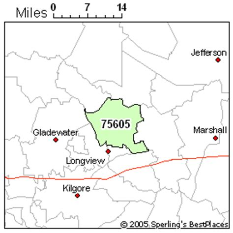 longview texas zip code map best place to live in longview zip 75605 texas