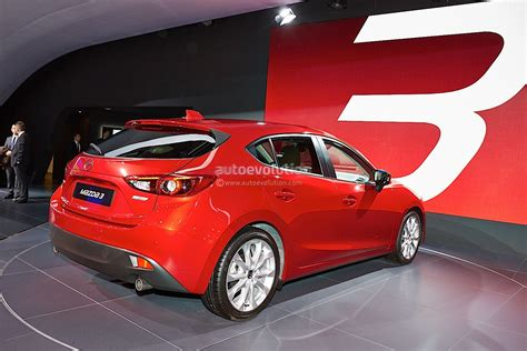 the new mazda frankfurt 2013 all new mazda3 hatch and sedan live