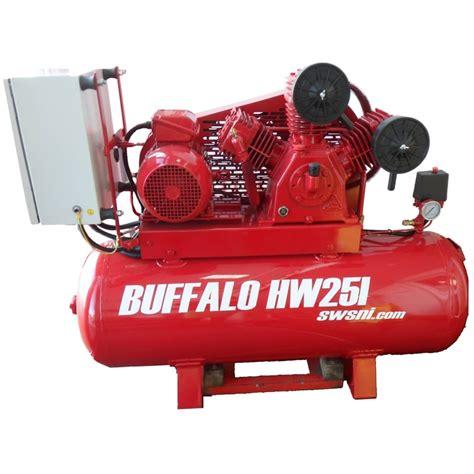 buffalo air compressor single phase inverter hw25i