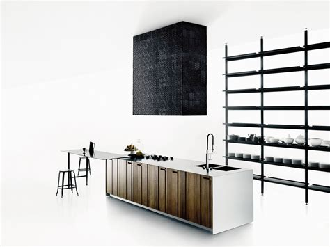 Kitchen Island Designs solid wood kitchen with island aprile by boffi design